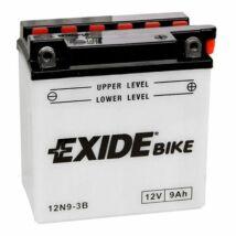 Exide 12N9 - 3B  9Ah/85A  Akkumulátor-savas