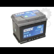 Exide EB620  62Ah/540A  Akkumulátor
