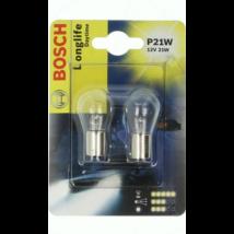Bosch 1987301050 Longlife Daytime izzó 12V P21W Duo