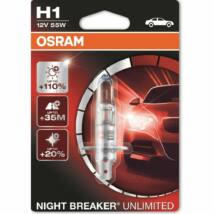 Osram 64150 Night Breaker Unlimited  H1 izzó 12V 55W