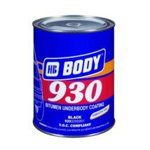 Alvázvédő bitumenes kenhető  1kg. HB Body 930.02