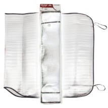 Napfényvédő alu 145X70 cm.  4Cars