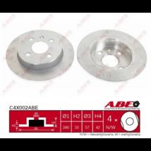 ABE - C4X002ABE - Féktárcsa hátsó