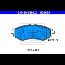 ATE - 13.0460-5899.2 - Fékbetét