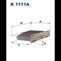 Filtron - K1111A - Pollenszűrő