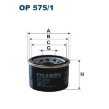 Filtron - OP575/1 - Olajszűrő