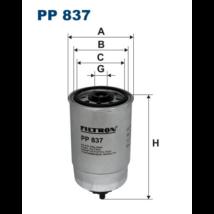 Filtron - PP837 - Üzemanyagszűrő