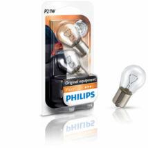Philips 12498/2B izzó 12V P21W Duo