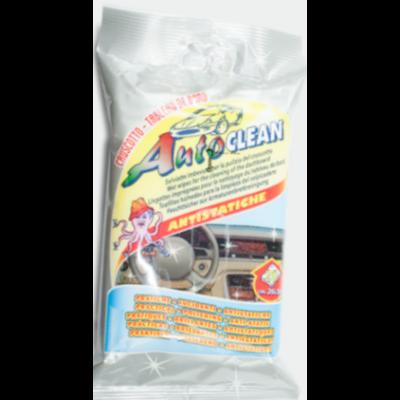 Műszerfalápoló törlőkendő 20db. Auto Clean