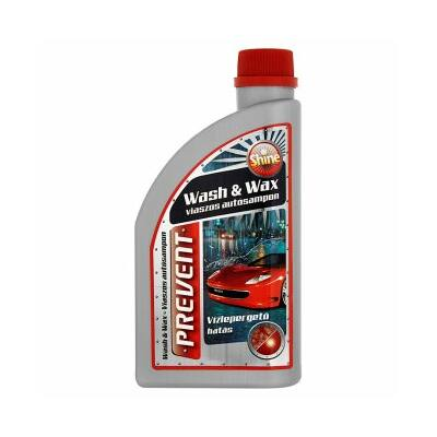 Autósampon Wash&Wax viaszos 500ml. Prevent