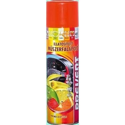 Műszerfalápoló spray narancs 500ml. Prevent