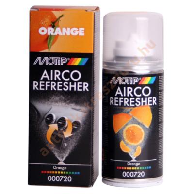 Klímatisztító bomba, légkondi frissítő narancs 150ml. Motip  000720