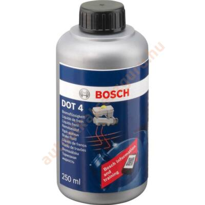 Fékfolyadék Dot 4 Bosch 250ml.