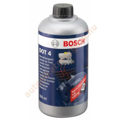Fékfolyadék Dot 4 Bosch 500ml.