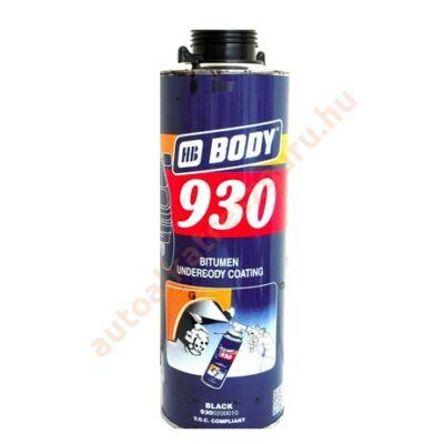 Alvázvédő fekete pisztolyos 1l. HB Body 930.02