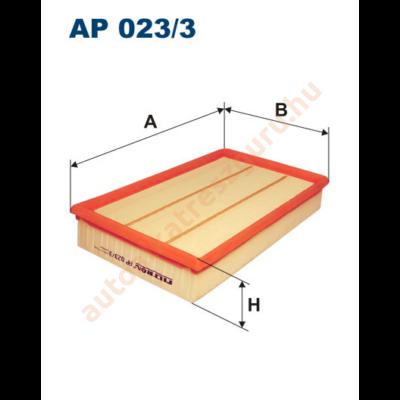 Filtron - AP023/3 - Légszűrő