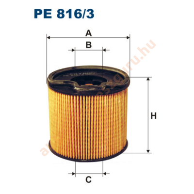 Filtron - PE816/3 - Üzemanyagszűrő