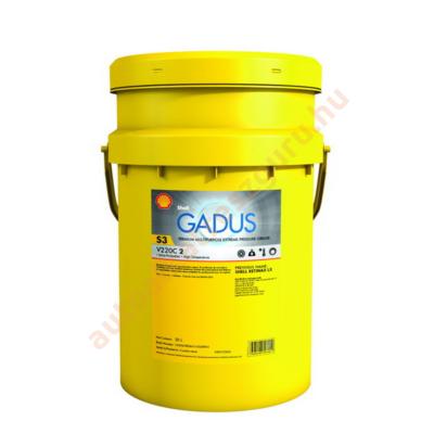 Csapágy kenőzsír lítiumos  18kg. Shell Gadus S3